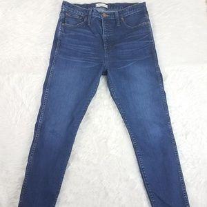 Madewell blue jeans denim med wash 31 skinny